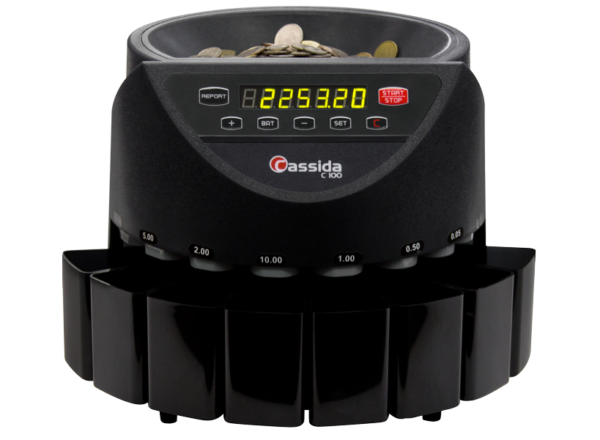Счетчик-сортировщик монет Cassida C100