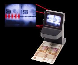 Детектор валют Cassida UNOplus Laser