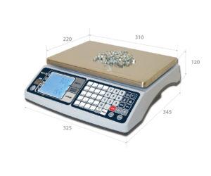 Весы настольные электронные счетные мастер мц2