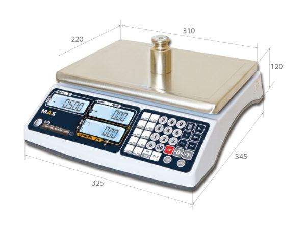 Весы настольные электронные Мас мастер мр1
