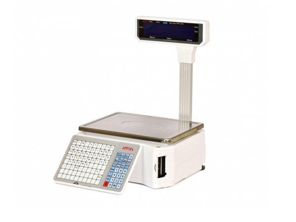 Весы с печатью этикеток АТОЛ LS5X со стойкой
