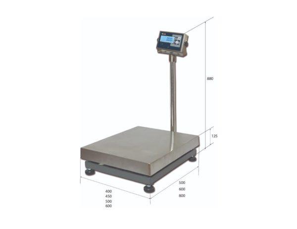 Весы напольные товарные MAS PM1H