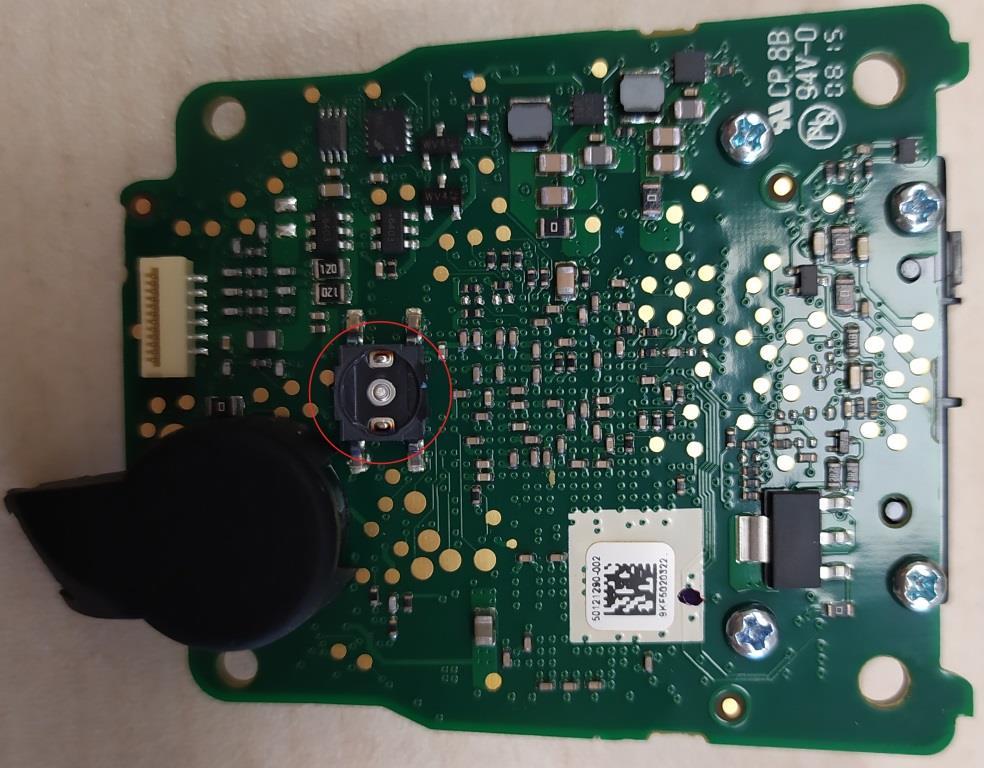 Сканер Honeywell 1450g основная плата