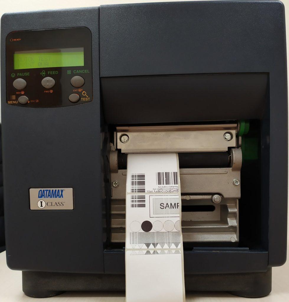Притер этикеток DATAMAX I 4208 итог диагностики