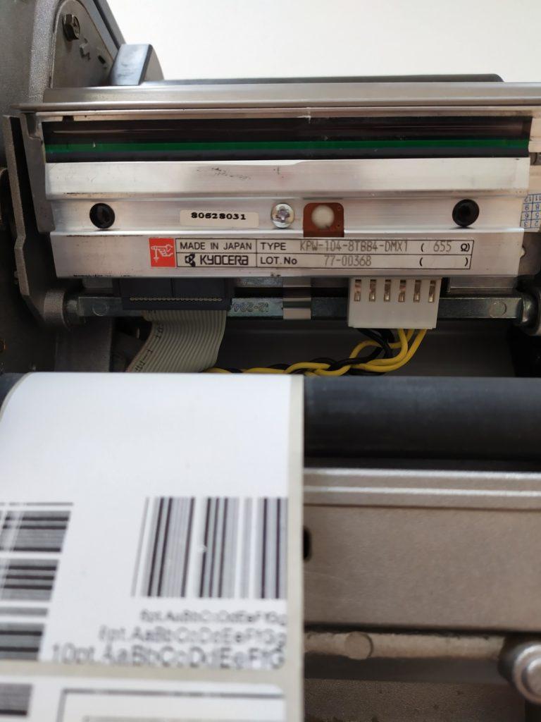 Притер этикеток DATAMAX-I-4208 состояние старой термоголовки